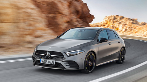 New 2018 Mercedes A Series