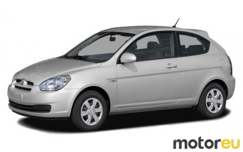 Hyundai Accent Mpg >> Hyundai Accent Hatchback 1 4 97 Hp 2006 2008 Mpg Wltp