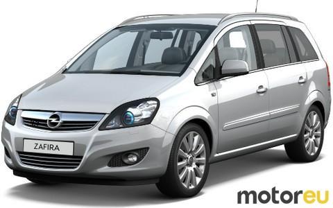 Opel Zafira 1 8 Lpg Ecoflex 137 Hp 2008 2014 Mpg Wltp Fuel