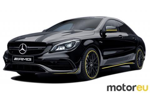 Mercedes CLA 45 AMG 381 hp MPG Specs Fuel consumption