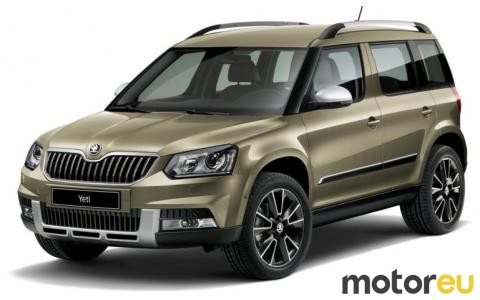 Yeti Outdoor 2.0 TDI SCR