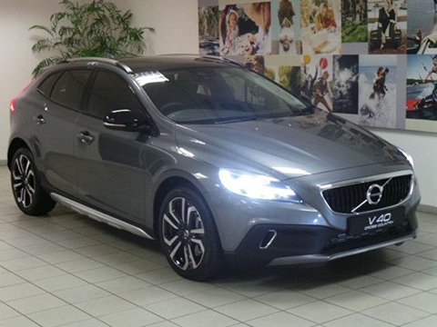 Volvo v40 Cross Country 2018 consommation de carburant